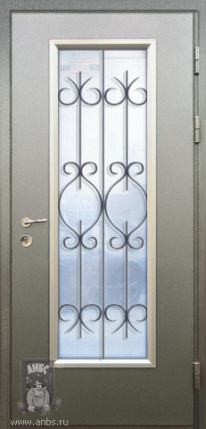 входные двери с расстекловкой